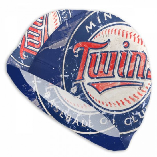 High Quality Minnesota Twins swim cap #726490 suitable for both long hair and short hair